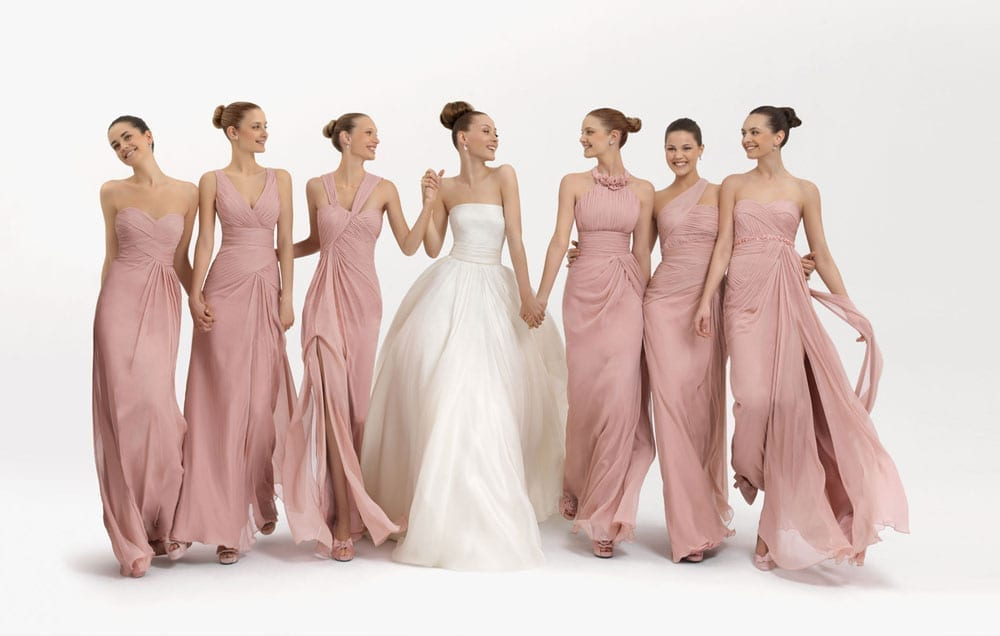 Floral Bridesmaid Dresses – Totally Cute Or Utterly Over The Top?