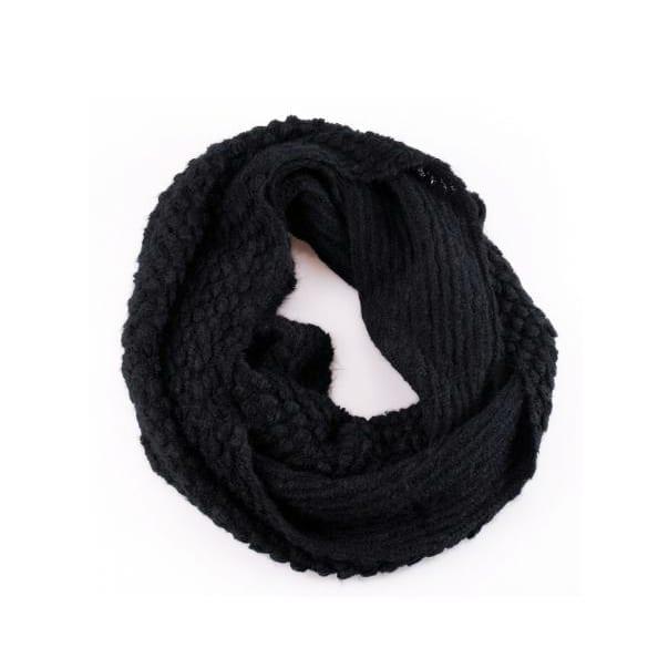 Knit Neck Cowl Wrap Warmers Scarf Corn Shawl