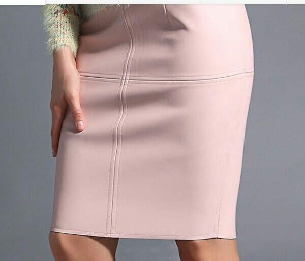Slim Sexy Knee Length Ladies Pencil Skirt