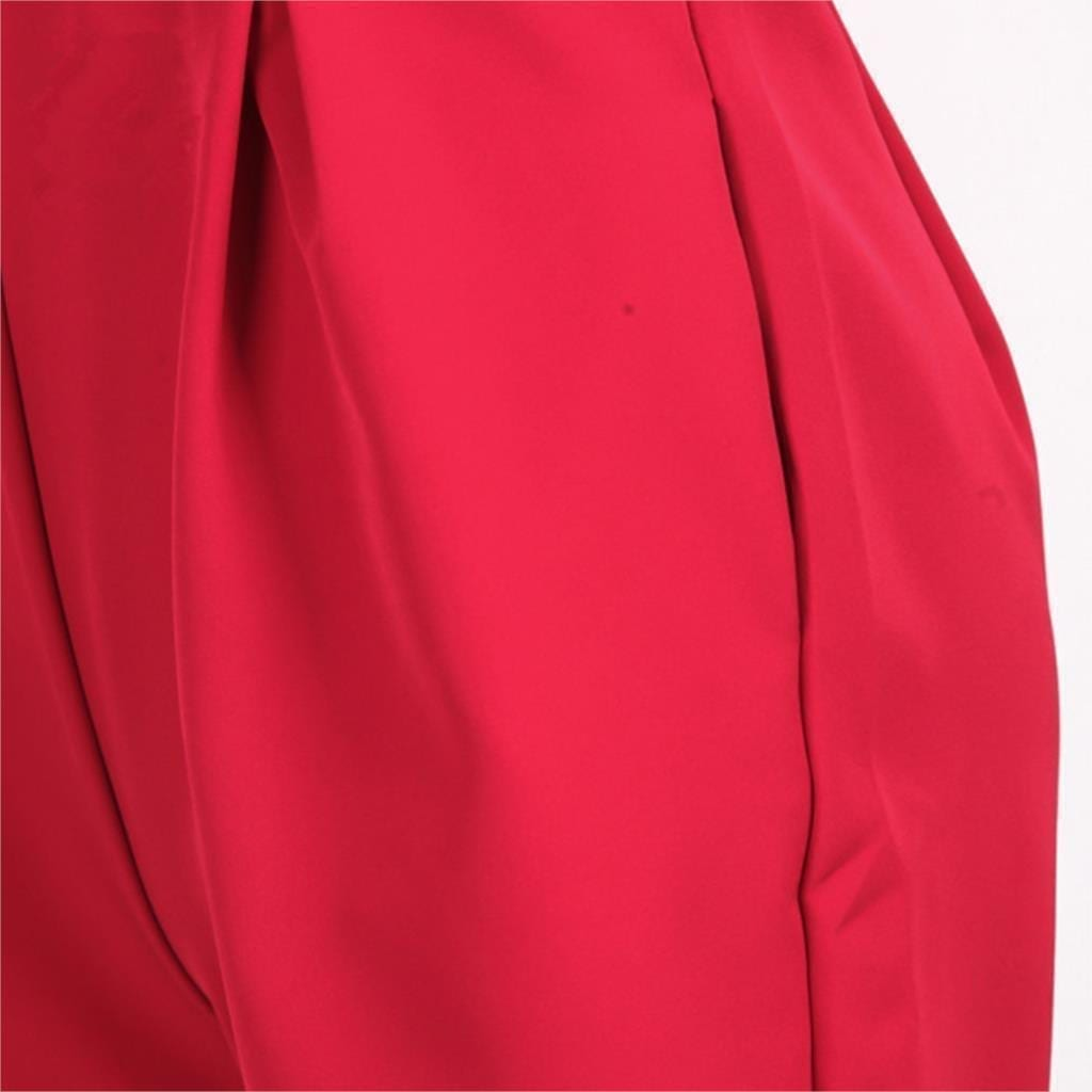 Sleeveless Front Cross Hollow Jumpsuit