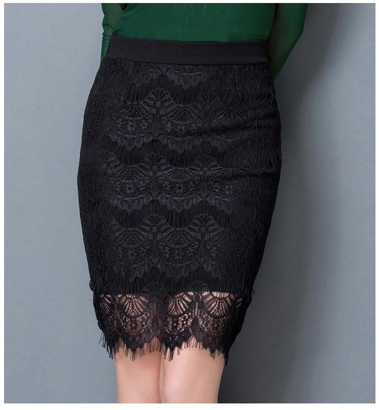 Pencil High Waist Skirt