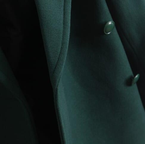 Retro Double-breasted Cashmere Coat