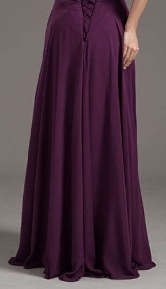Floor Length Sweetheart Pleated Lace Up Prom Dress