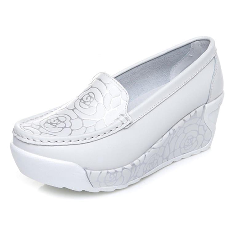 Print Women Flats Shoes