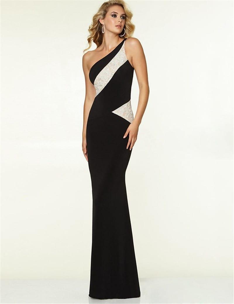 Elegant Fashion One Shoulder Dress