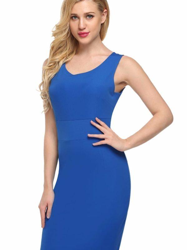 Elegant Pencil Office Dress