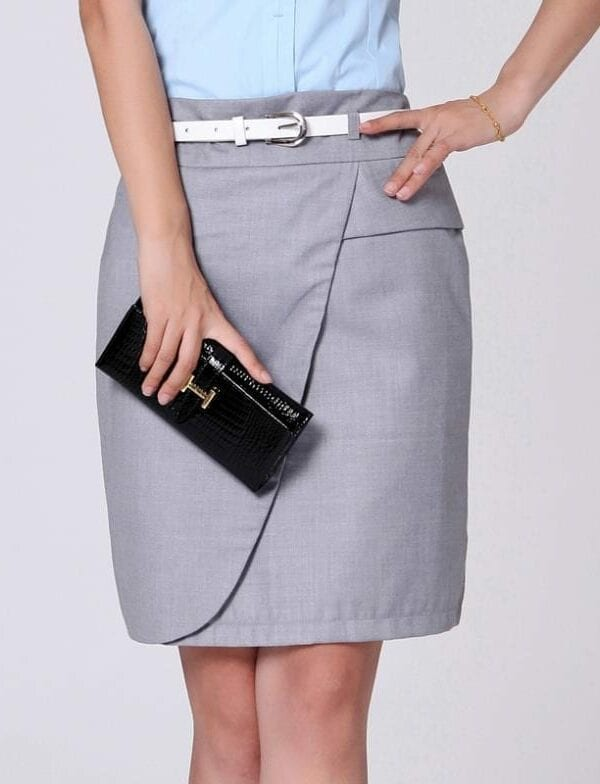 Elegant Office Pencil Skirt