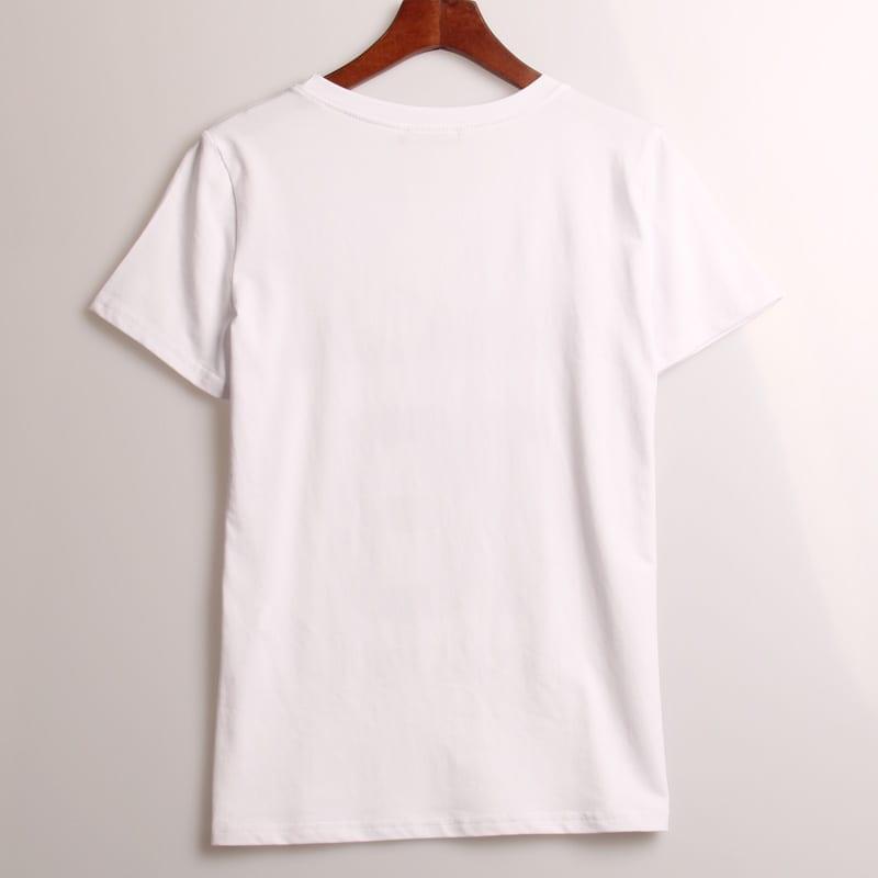 Sequined Love Heart T-shirt