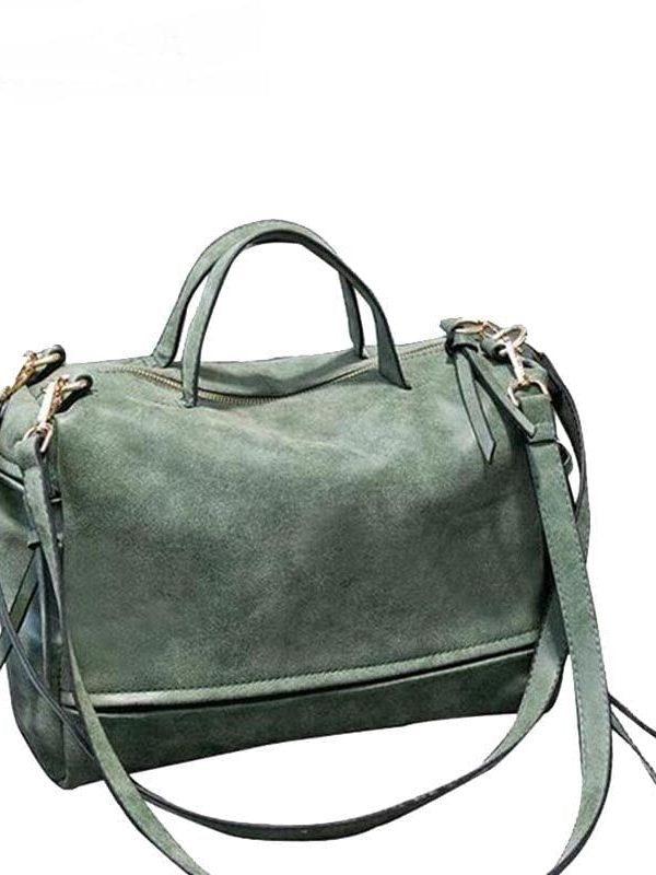 Vintage Women Messenger Moto Shoulder Crossbody Bag