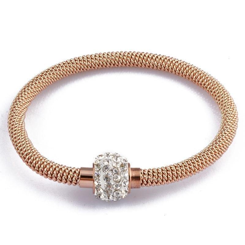 Chic Stainless Steel Women Charm Bracelet
