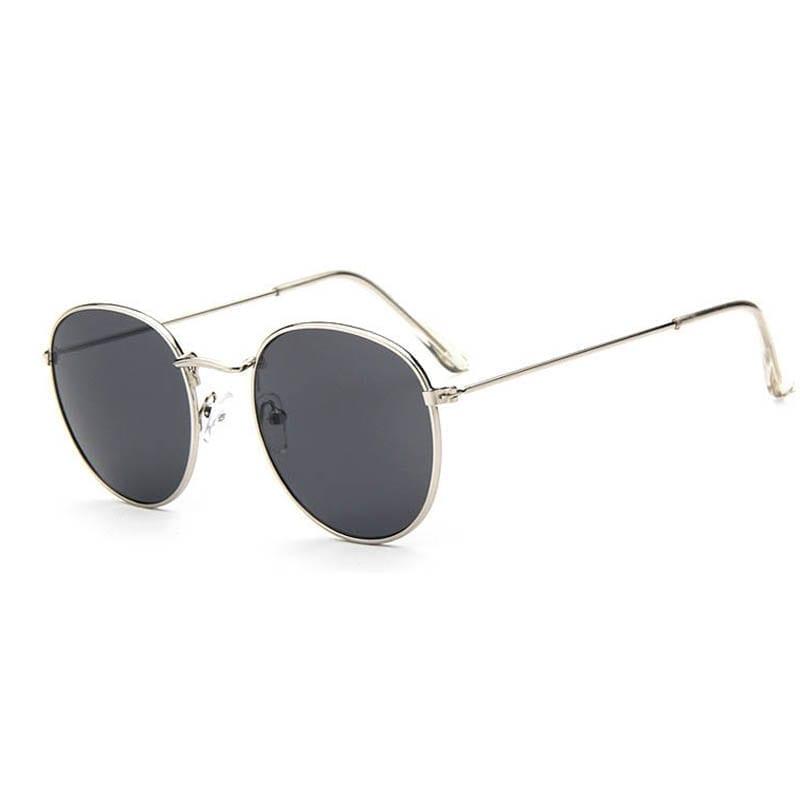 Vintage Round Mirror Sunglasses