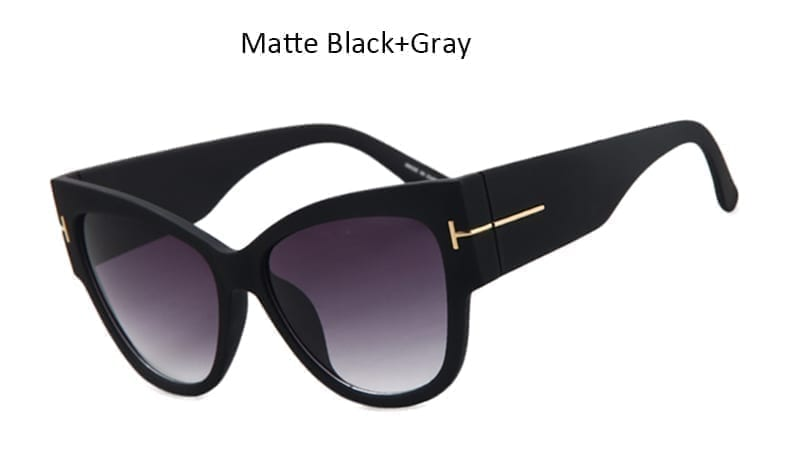 Cat Eye Big Oculos Women Sunglasses