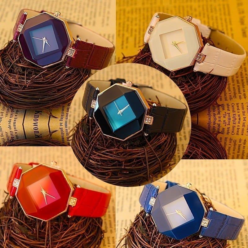 Geometry 5color Jewelry Watch