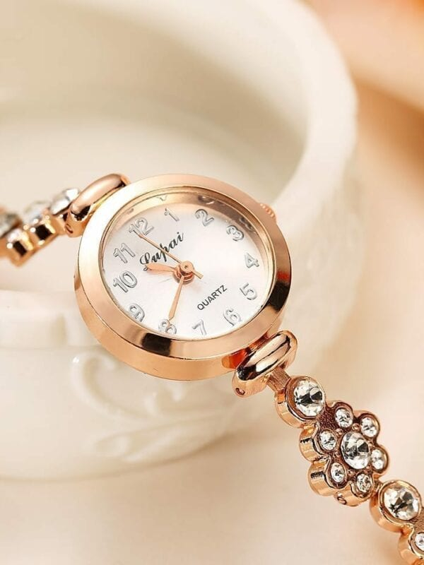 Summer Style Stainless Gold Watch