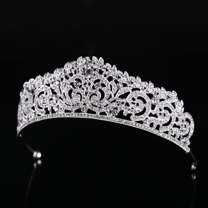 Wedding Tiara Crown Bridal Hair Jewelry