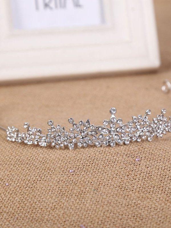 3 Designs Fashion Crystal Wedding Bridal Tiara Hair Jewelry