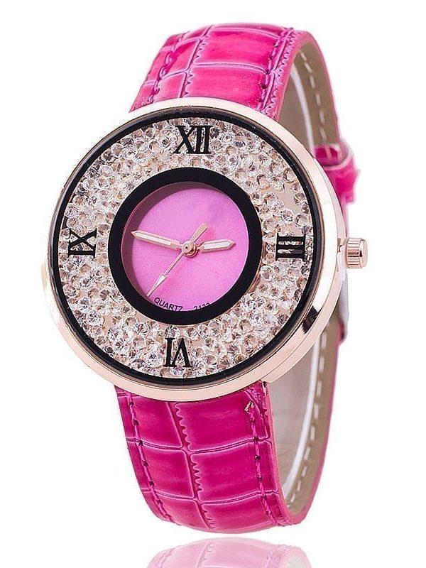 Luxury Rhinestone Casual Women Watch