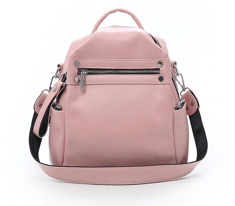 Multi-function Solid Travel Shoulder Bag Backpack
