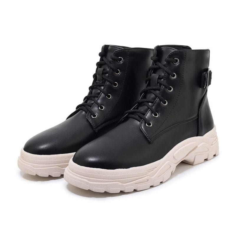 Warm ankle thick sole casual boots