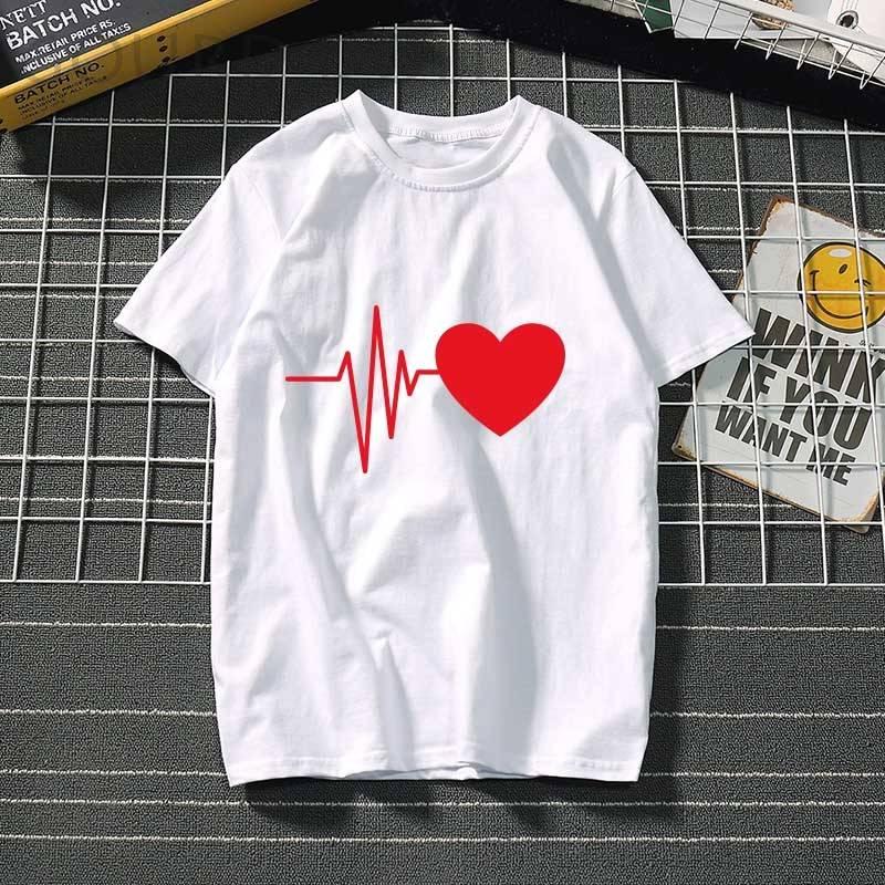 Than heart ulzzang graphic t-shirt