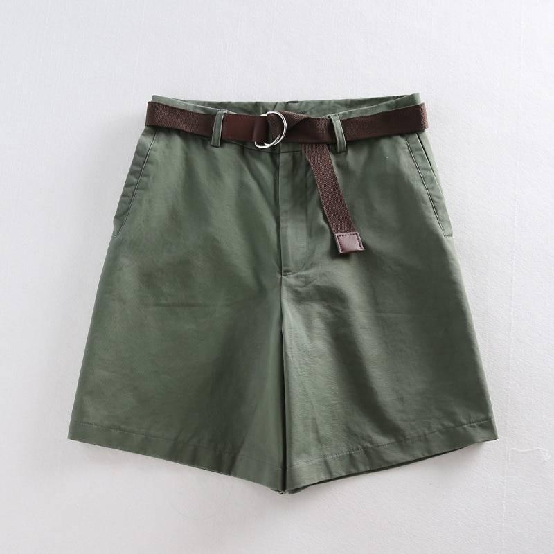 Sashes a-line high waist bottom shorts