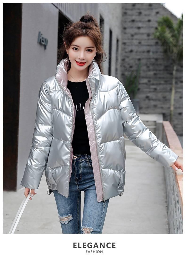 Winter women parka jacket