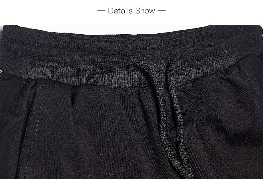 Loose elastic waist casual harem pants
