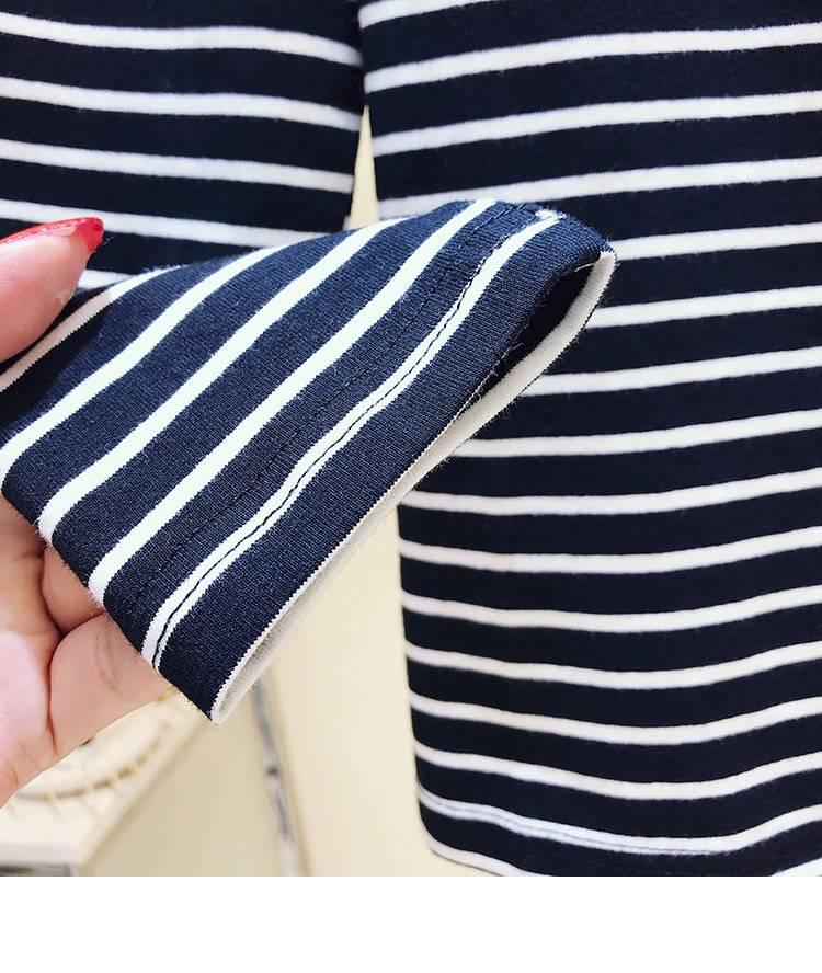 Casual long sleeve basic cotton t shirt