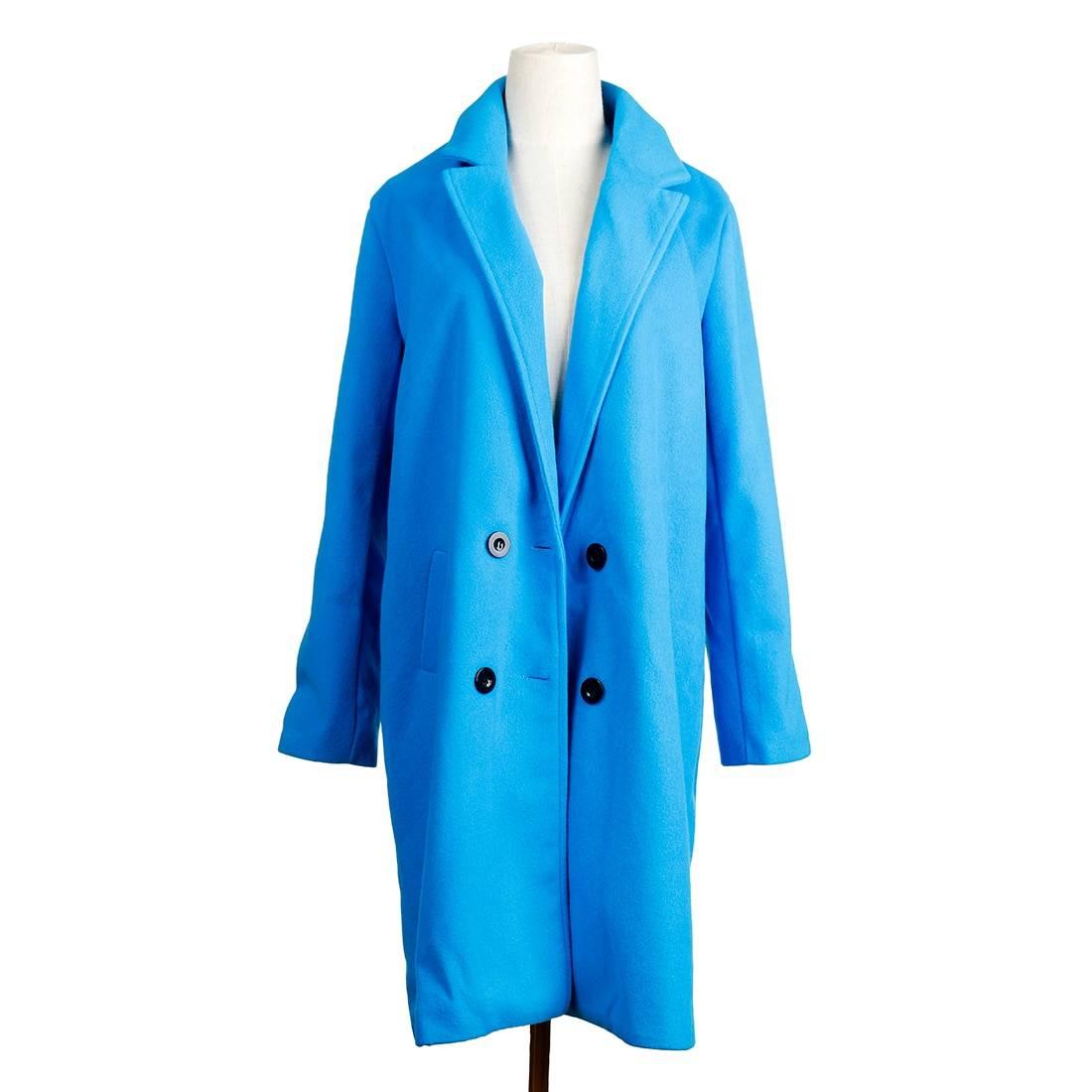 Elegant loose long sleeve turn-down collar oversize blazer jacket