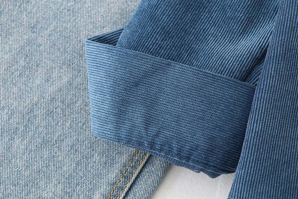 Loose long sleeve casual shirt