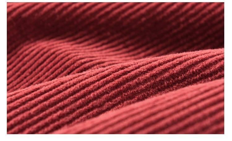 Vintage elastic waist a-line pleated skirt