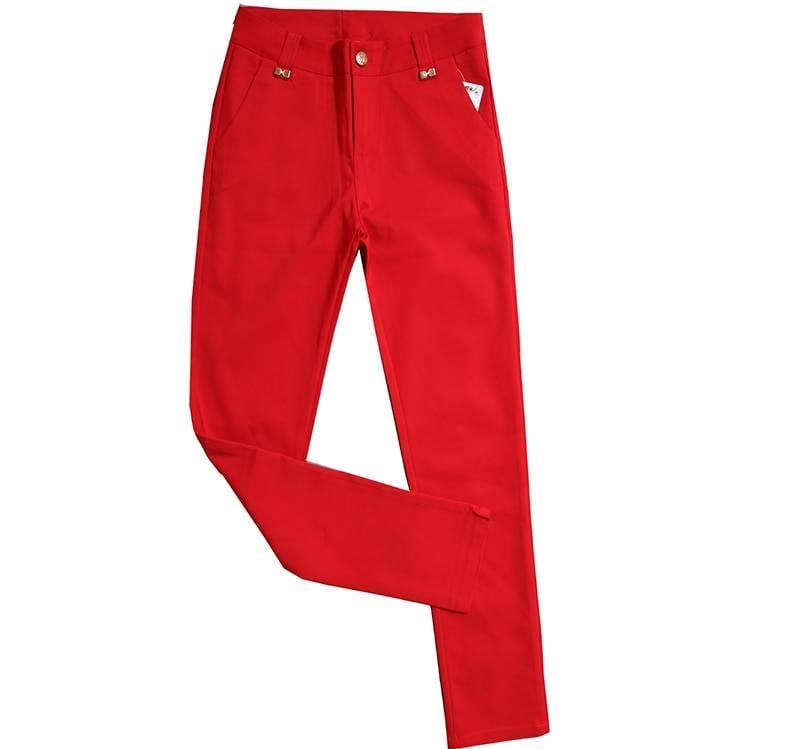 High waist office pencil pants