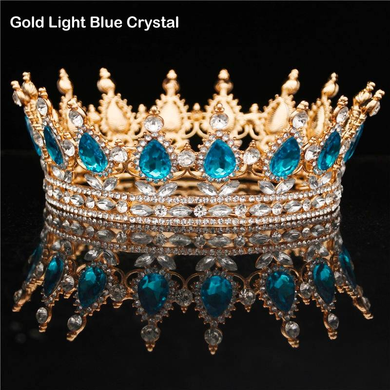 Vintage tiara crown diadem wedding hair jewelry