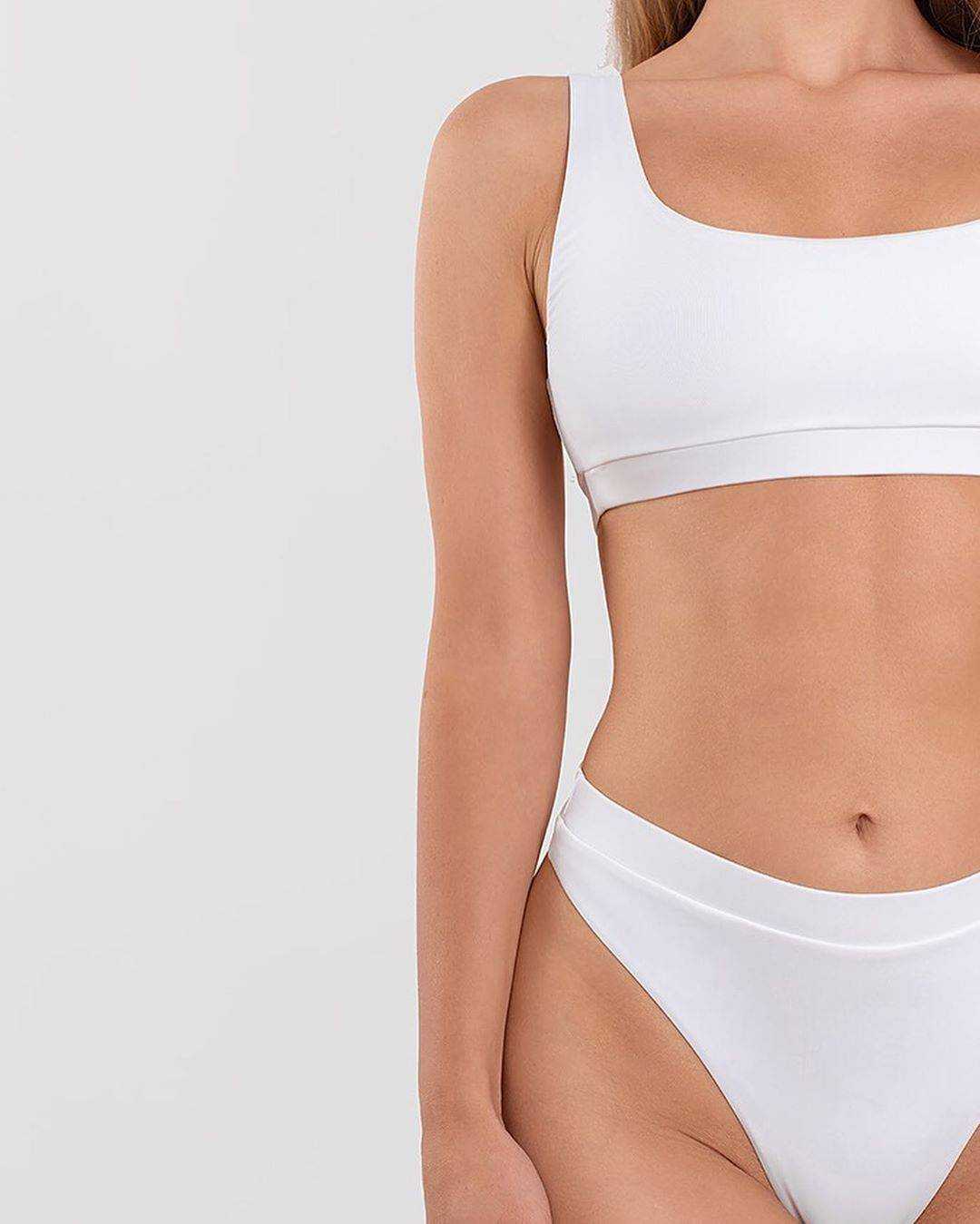2020 High Waist Bathing Suits Push Up Sexy Yellow Swimsuit Women Sport Crop Bikini Sets Woman Beach Swimwear Brazilian Clothes