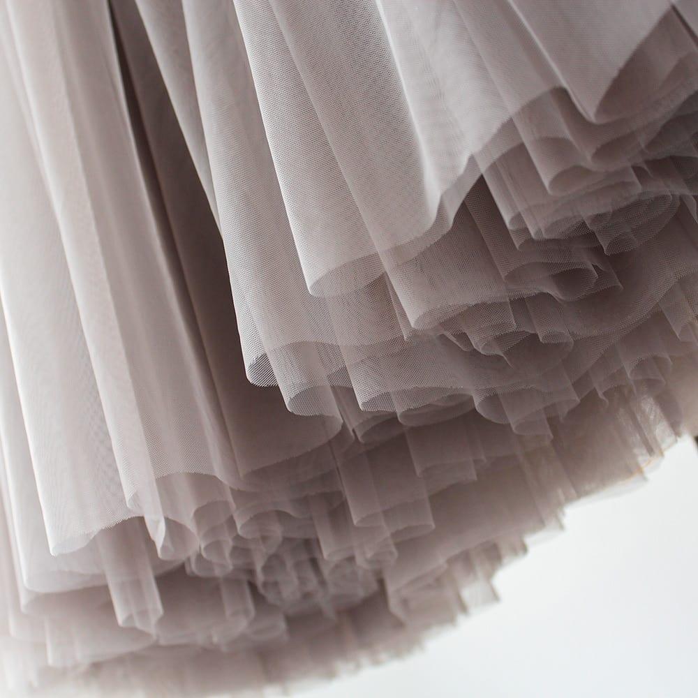 Treutoyeu Vintage Gothic Black White Pleated Long Tulle Skirt Tutu Femme High Waisted Runway Soft Mesh Skirts Womens 2021 Jupe