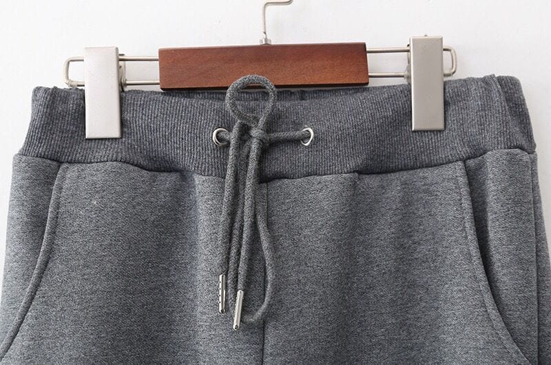 2021 Winter Women Pants Casual Loose Thicken Warm Women Pants Female Long Trousers Outwear High Waist Solid Harem Pants 2XL